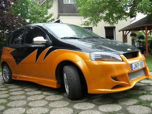 b Тюнинг Chevrolet Aveo - 2007 г…
